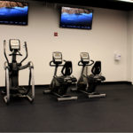Inside The Kraft Group Employee Fitness Center