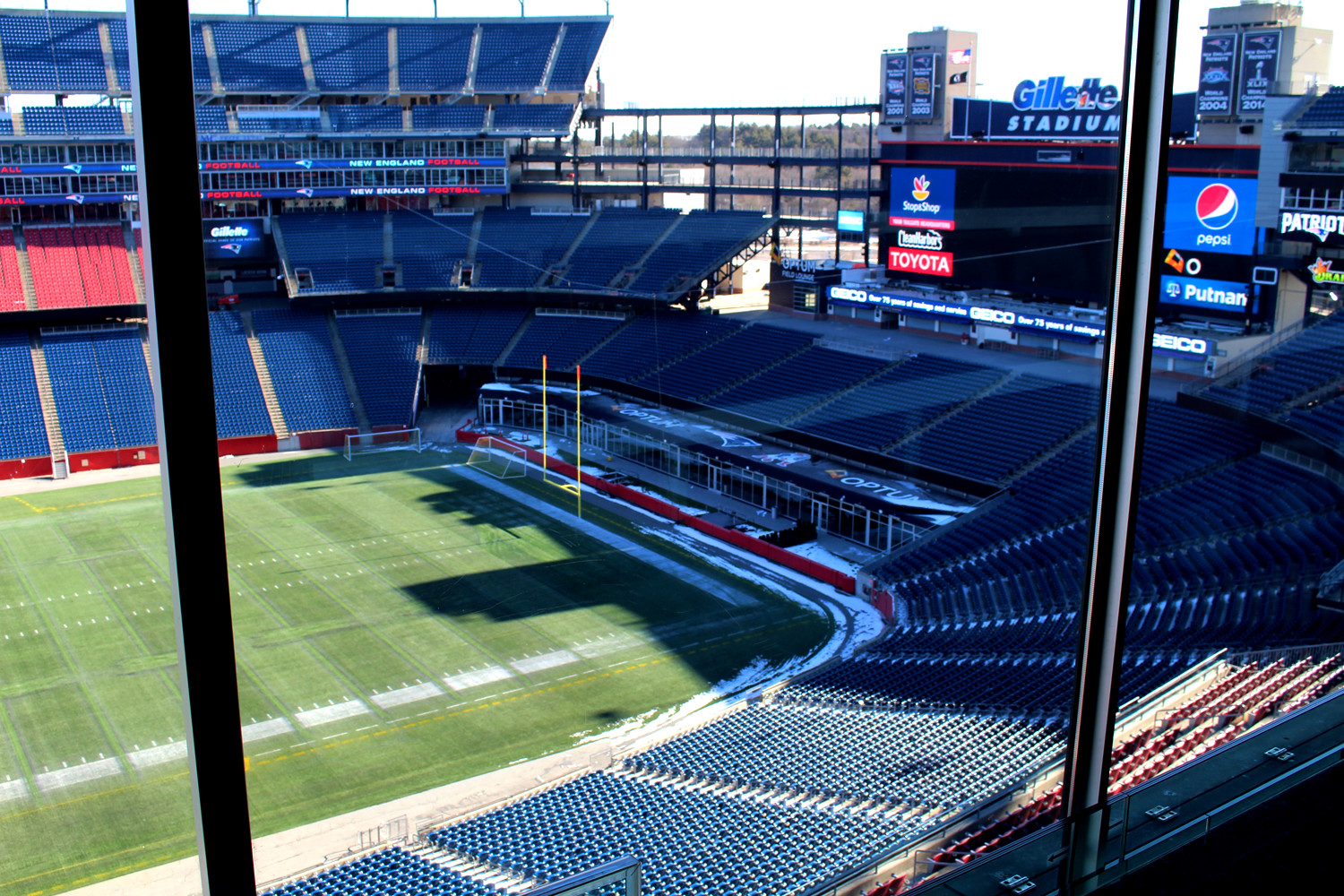 Gillette Stadium South End Zone Club
