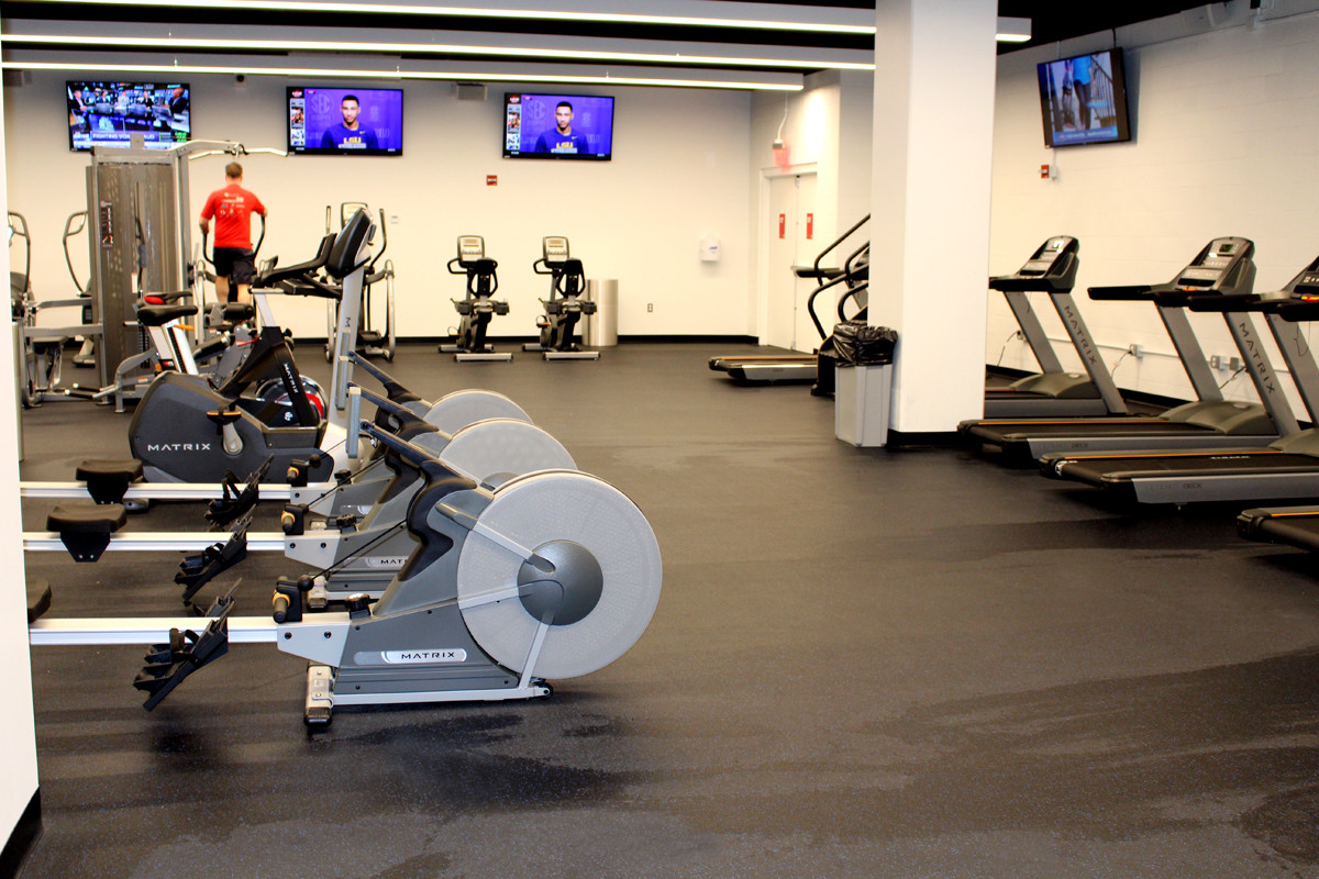 The Kraft Group Employee Fitness Center